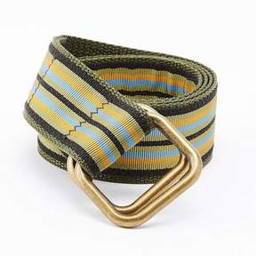 Blade + Blue Olive Multi Stripe Belt by One Magnificent Beast