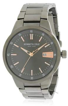 Kenneth Cole Black Stainless Steel Mens Watch KCC0131003