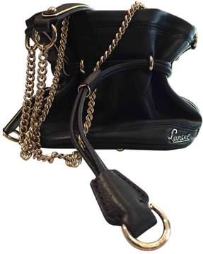 Lancel 1er Flirt Black Leather Handbag