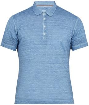 120% Lino 120 LINO Linen polo shirt
