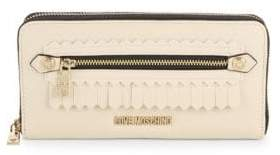 Love Moschino Faux Leather Continental Zip-Around Wallet