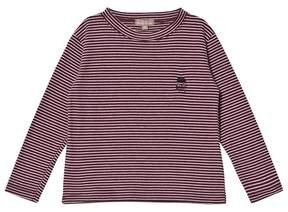 Emile et Ida Pink and Blue Striped Tee