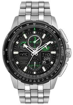 Citizen JY8051-59E Mens Eco-Drive Watch Skyhawk A-T Stainless Steel band
