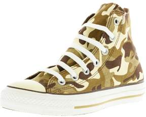 Converse Chuck Taylor All Star Prt Hi Tan Camo High-Top Canvas Fashion Sneaker - 7M / 5M