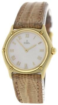 Ebel Classic 18K Yellow Gold Quartz 27mm Womens Watch