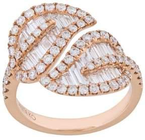 Anita Ko Large Leaf Ring
