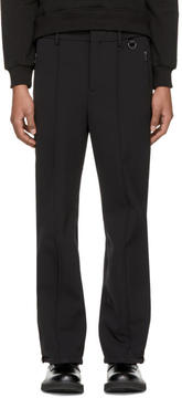 Neil Barrett Black Side Band Ski Trousers