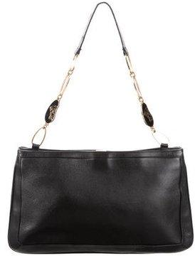 Gianni Versace Leather Shoulder Bag