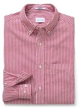 Gant Men's White/red Cotton Shirt.