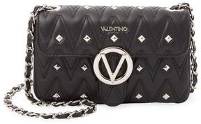Mario Valentino Valentino by Women's Leather Studded Crossbody