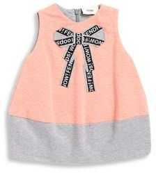 Fendi Baby Girl's Bow Dress