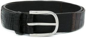 Orciani textured bucket belt