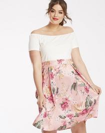 AX Paris Floral 2 in 1 Dress