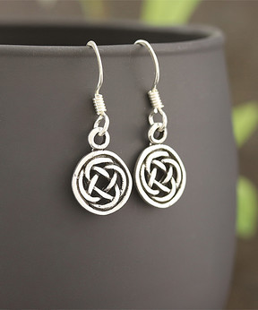 Celtic Sterling Silver Knot Earrings