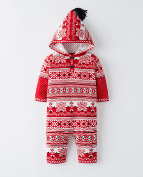 Hanna Andersson Snö Happy Sweater Romper