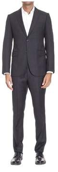 Armani Collezioni Men's Grey Wool Suit.
