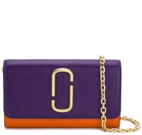 Marc Jacobs saffiano mini chain wallet
