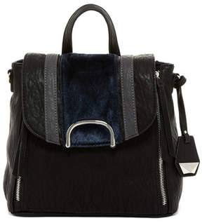 Jessica Simpson Claireen Faux Fur Detail Backpack