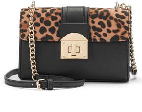 Apt. 9 Jade Leopard Print Crossbody Bag