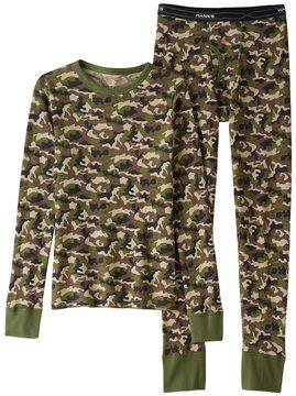 Hanes Boys Camouflage X-Temp Thermal Set