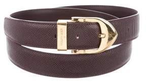 Louis Vuitton Taiga Classique Belt