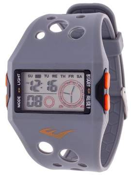 Everlast Accented Plastic Strap and Case Watch - Gray