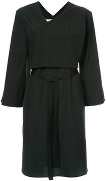 CHRISTOPHER ESBER short belted dress