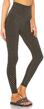 Beyond Yoga Spacedye Stacked And Sliced High Waisted Legging