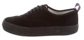 Eytys Suede Low-Top Sneakers
