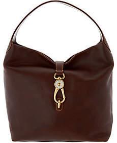 Dooney & Bourke As Is Florentine Logo Lock Shoulder Bag - ONE COLOR - STYLE