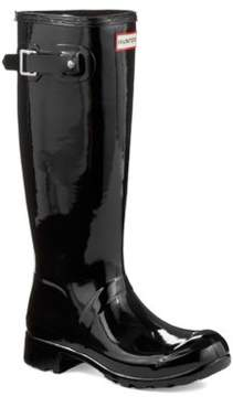 Hunter Tour Gloss Rubber Rain Boots