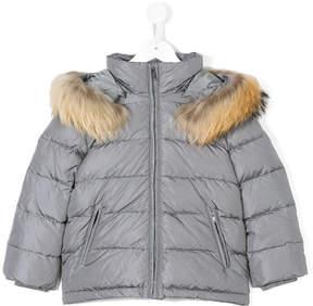 Il Gufo trimmed hood padded jacket