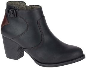 CAT Footwear Black & Tawny Trestle Leather Bootie