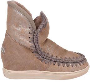 Mou Inner Wedge Sneaker Crystal Shoes
