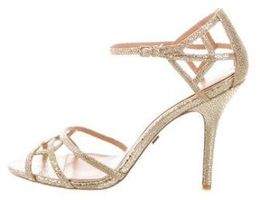 Badgley Mischka Kerrington Cutout Sandals w/ Tags