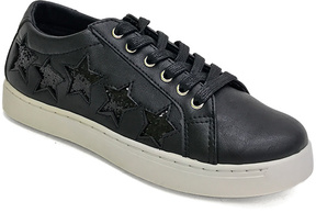 Bamboo Black Star-Accent Grand Slam Sneaker
