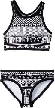 Seafolly Jungle Geo Tankini Set Girl's Swimwear Sets