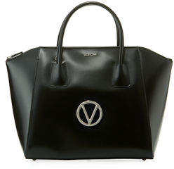 Mario Valentino Valentino By Gigi Soave Leather Tote Bag