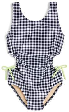 J.Crew crewcuts by Clara Gingham One-Piece Swimsuit