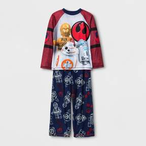 Star Wars The LEGO Boys' Spacedye Pajama Set - Navy