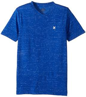 Hurley Cloud Slub Staple V-Neck Tee Boy's T Shirt