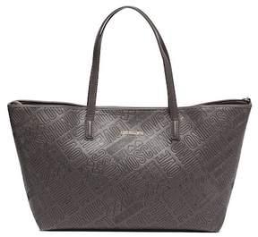 Love Moschino Embossed Logo Tote Bag