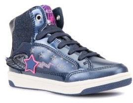 Geox Toddler Girl's Creamy Winged Light Up Sneaker