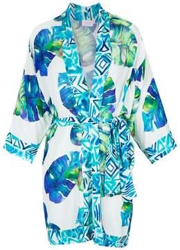 BRIGITTE printed kimono