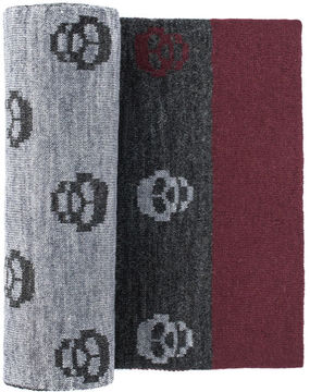 Johnston & Murphy Skull Scarf