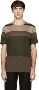 Paul Smith Tricolor Striped T-Shirt