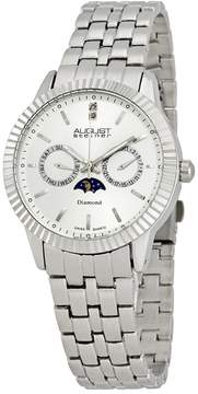August Steiner Diamond Multi-Function Men's Watch
