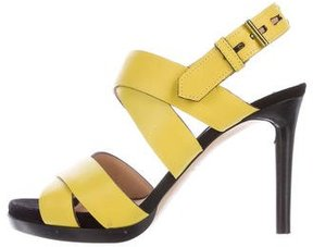 Reed Krakoff Multistrap Leather Sandals