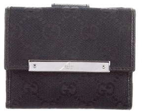 Gucci GG Compact Wallet - BLACK - STYLE