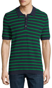 Burberry Kinsley Striped Polo Shirt